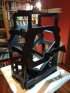 The whole BookScanner put together